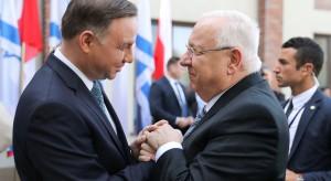 Prezydenci Polski i Izraela oddali hołd ofiarom Auschwitz