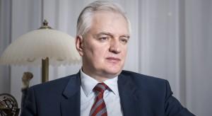 """""""... my, politycy, was zdewastujemy"""": Jarosław Gowin odwiedził Uniwersytet Łódzki"""