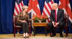 Trump straciłby stanowisko w rządzie Theresy May