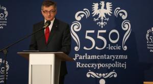 Obchody jubileuszu 550 lat polskiego parlamentaryzmu bez opozycji?
