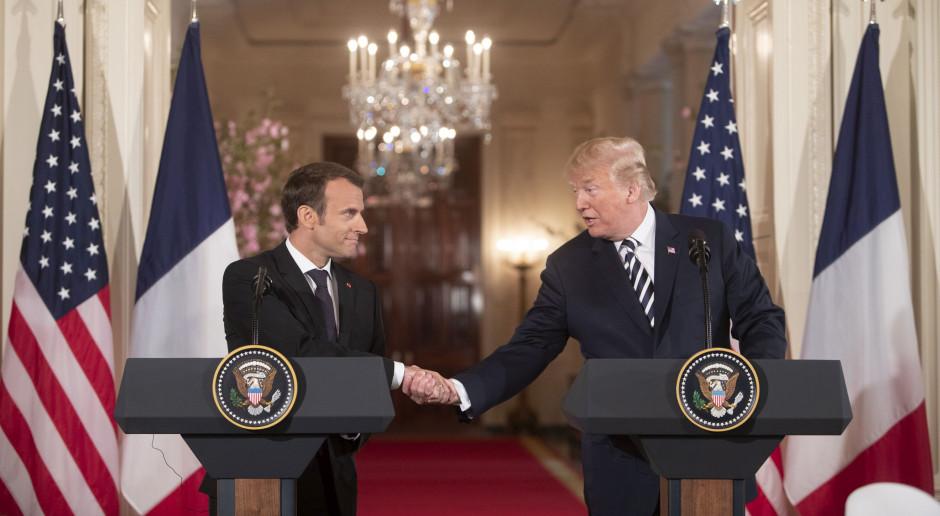 Trump i Macron rozmawiali o podatku cyfrowym