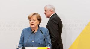 Angela Merkel musi stawić czoła potężnemu kryzysowi we własnym rządzie