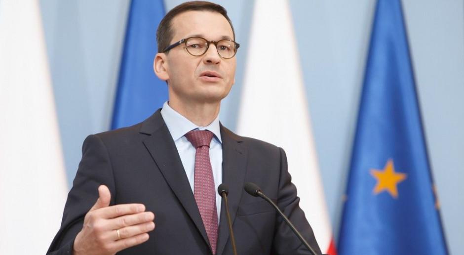 Mateusz Morawiecki: w Sądzie Najwyższym są sędziowie z czasów stanu wojennego