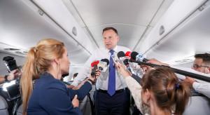 Prezydent Duda jedzie po konkrety do USA
