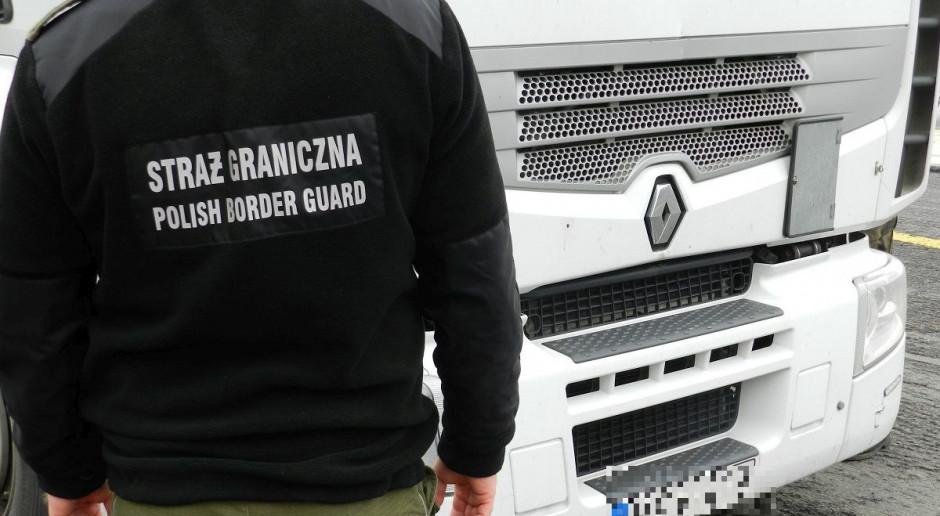Nielegalni imigranci znalezieni w polskiej ciężarówce