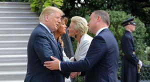 Rok w pracy prezydenta pod znakiem udanych relacji z USA