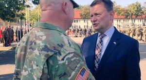 Po powrocie z USA minister Błaszczak chwali nowo powstały zespół ds. współpracy wojskowej