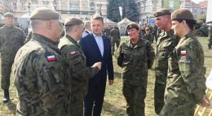 Minister Błaszczak: Zachęcam, żeby przystąpić do WOT