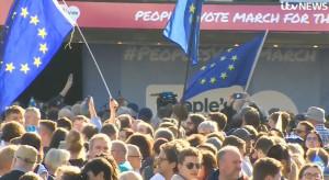 W Londynie manifestacja na rzecz drugiego referendum
