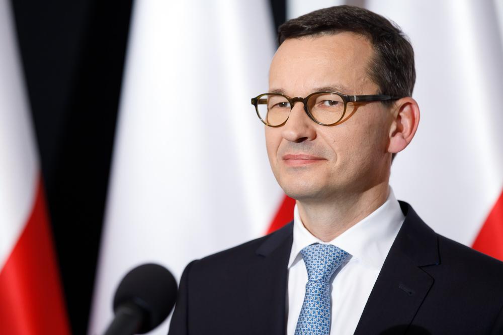 Premier Mateusz Morawiecki (fot. Krystian Maj/KPRM/flickr.com/domena publiczna)