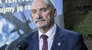 Macierewicz: Armia europejska jest sprzeczna z ideą Unii Europejskich