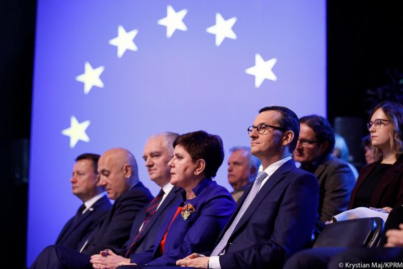 Każdy rząd stara się rozliczyć w ten sposób ze swoim wyborcami - powiedział Adam Bielan (fot.premier.gov.pl/Krystian Maj / Adam Guz / KPRM)