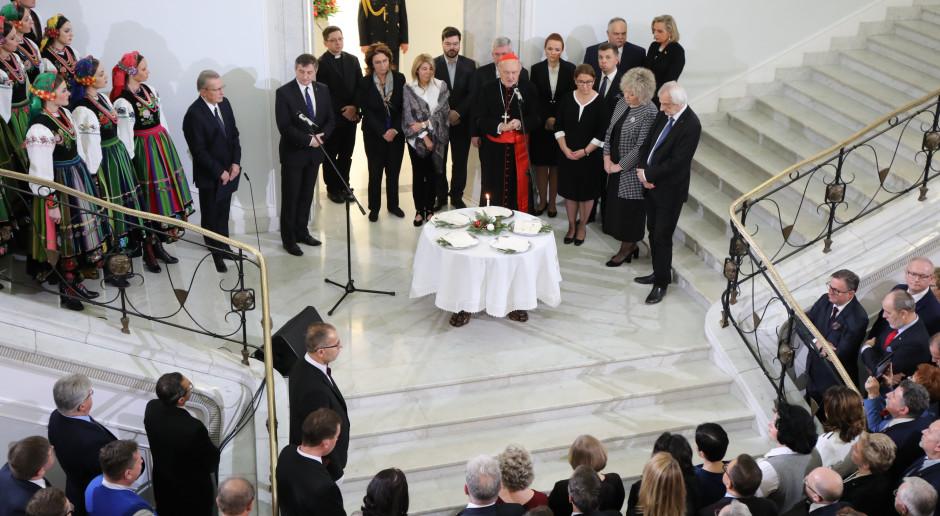Spotkanie opłatkowe w Sejmie, które odbyło się 14 grudnia 2018 r. (Kancelaria Sejmu RP/flickr.com/CC BY 2.0)