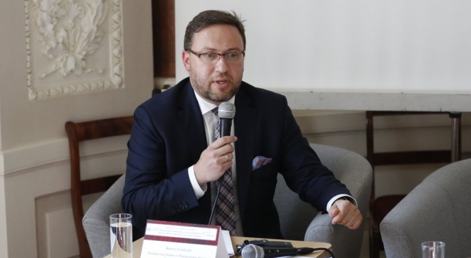 Bartosz Cichocki będzie ambasadorem na Ukrainie
