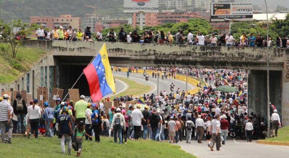 Wenezuela chce uniknąć konfliktu takiego jak w Syrii