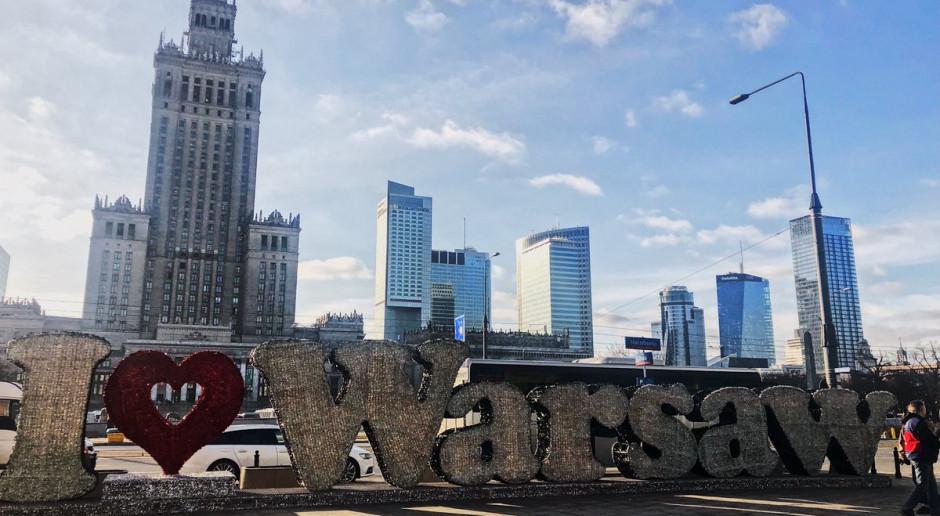 Warszawa, widok na centrum stolicy (fot. twitter.com/warszawa)