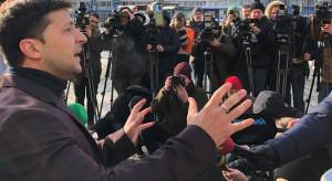 Prezydent Ukrainy o wycofaniu rosyjskich wojsk: zmniejsza napięcie