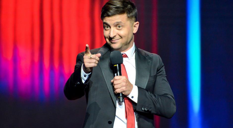 Głosy na Ukrainie policzone. Showman Wołodymyr Zełenski z najwyższym w historii wynikiem