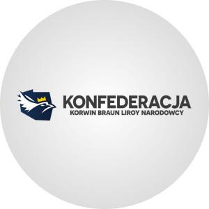 Konfederacja Korwin Braun Liroy Narodowcy - poparcie w sondażach przed wyborami parlamentarnymi 2019