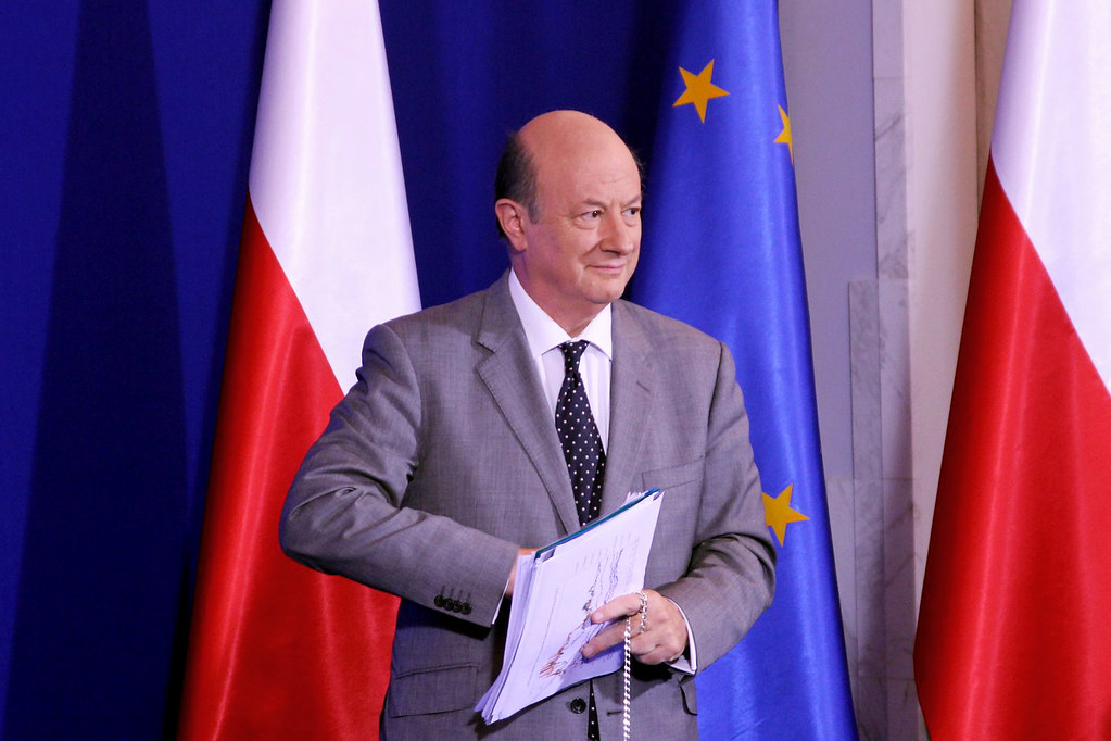 Jacek Rostowski w czasie sprawowania urzędu wicepremiera i ministra finansów kilka lat temu. (fot. PO/flickr.com/CC BY-SA 2.0)