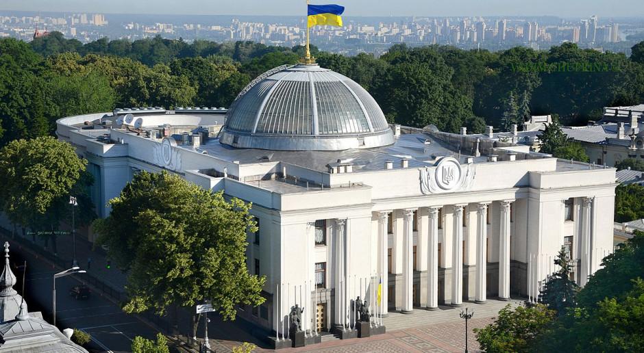 O przedterminowych wyborach na Ukrainie zdecyduje sąd