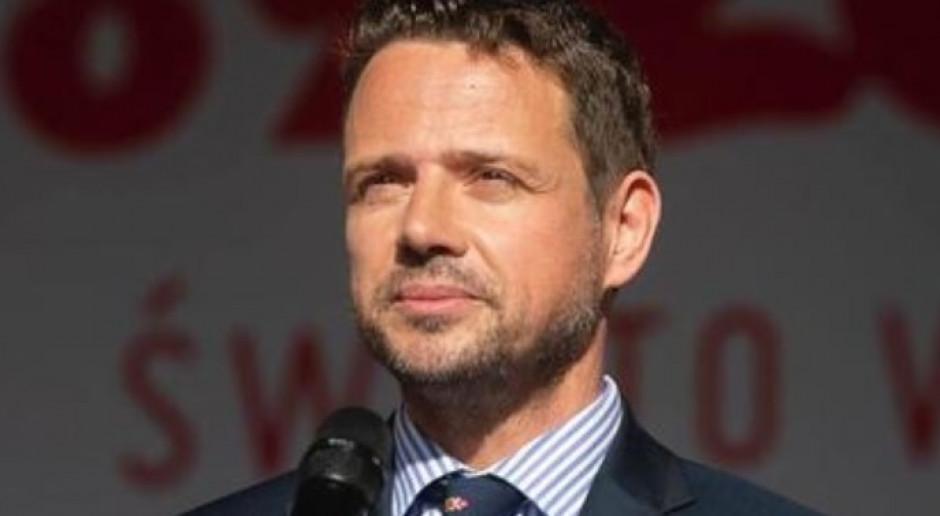 Rafał Trzaskowski: dzisiaj nad Pałacem Prezydenckim powiewa biała flaga