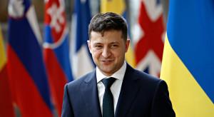 """Dla ponad 40 proc. Ukraińców Zełenski """"rozczarowaniem roku"""""""