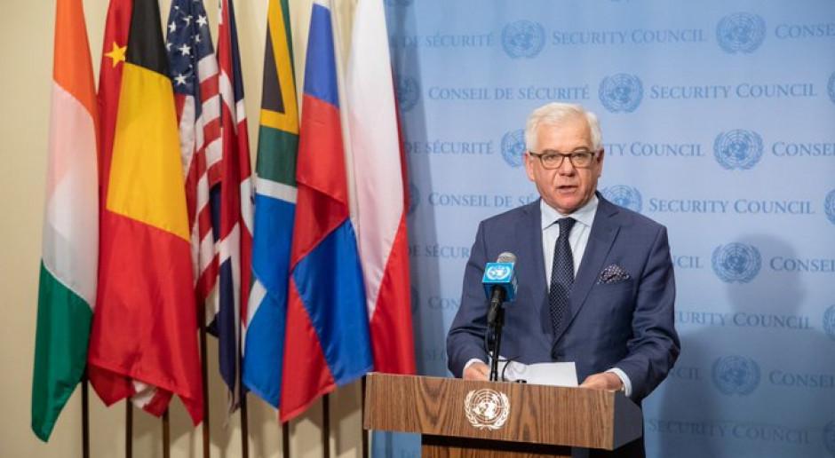 Jacek Czaputowicz: Prawo humanitarne powinno ewoluować stosownie do zmian