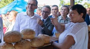 Kaczyński, Morawiecki i Szydło na pikniku rodzinnym w Stalowej Woli