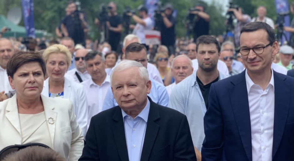 J. Kaczyński: musimy dogonić tych, którzy są na zachód od naszych granic