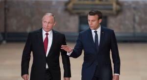 Emmanuel Macron wkrótce złoży wizytę w Rosji