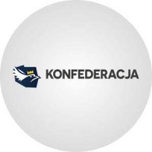 KW Konfederacja Wolność i Niepodległość - poparcie w sondażach przed wyborami parlamentarnymi 2019