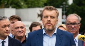 Adrian Zandberg: koło bądź klub Razem może mieć kilkunastu posłów