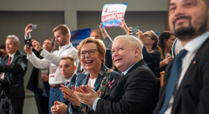 PiS z miażdżąca przewagą nad pozostałymi partiami
