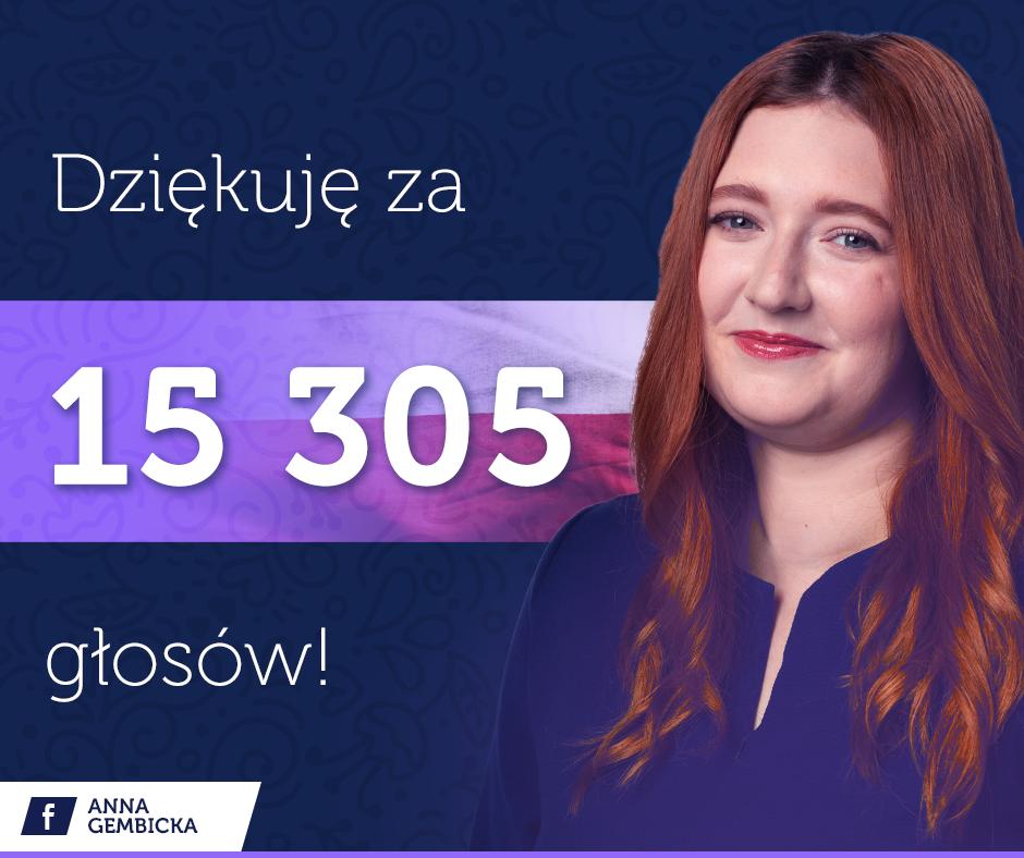 Anna Gembicka (fot. mat. pras./Facebook)