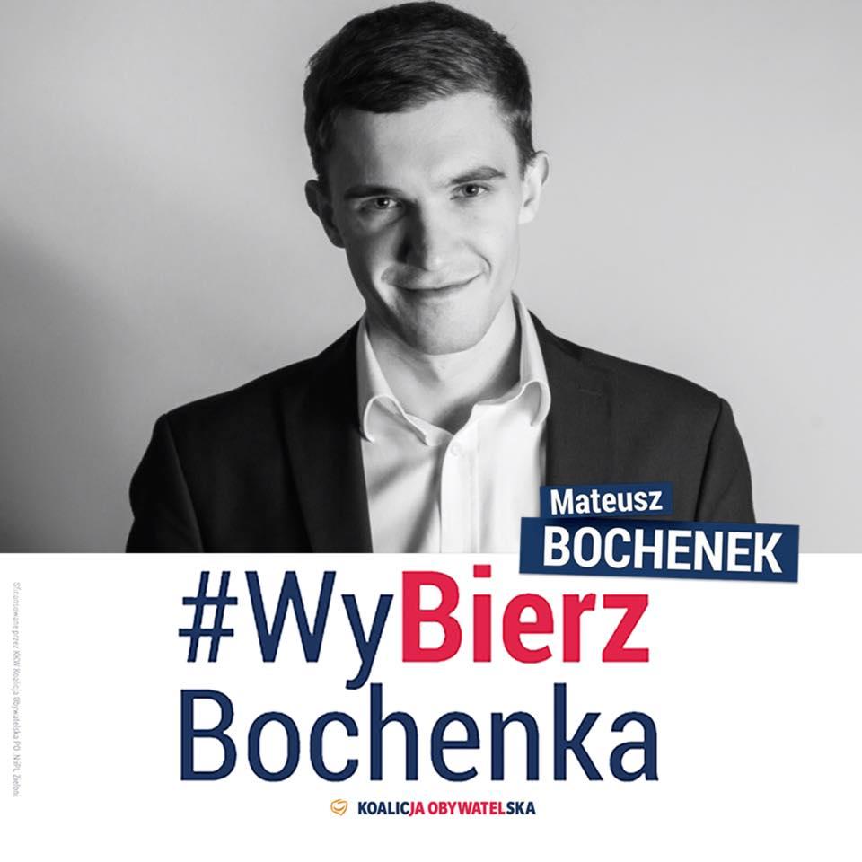 Mateusz Bochenek (Fot. mat. pras./Facebook)