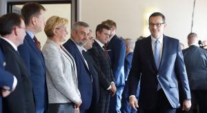 Posiedzeniu sztabu kryzysowego w Katowicach z udziałem premiera