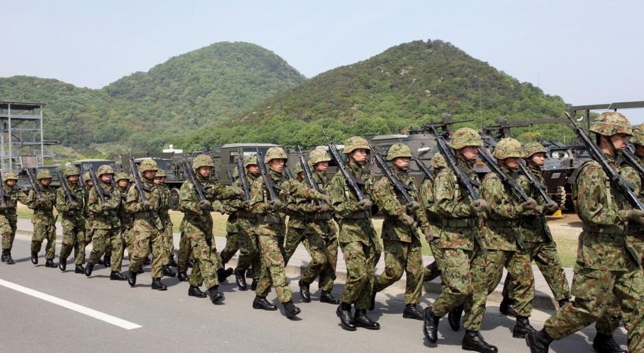 Japonia intensyfikuje udział w międzynarodowych manewrach wojskowych