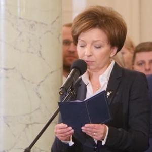 Marlena Maląg - Minister rodziny i polityki społecznej - oceniaj pracę rządu
