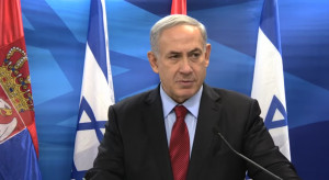 Premier Izraela ostro atakuje za postawienie go w stan oskarżenia