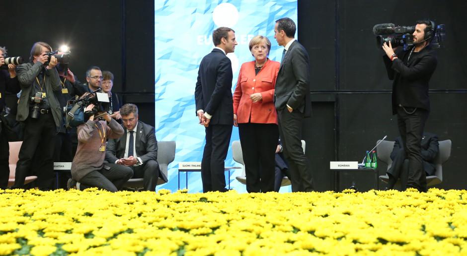Merkel nie jest zła na Macrona
