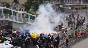 Dziesiątki aresztowanych podczas  protestów przeciw planowanemu prawu o bezpieczeństwie w Hongkongu