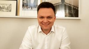 Zdaniem Hołowni kandydatura Trzaskowskiego ma zaradzić problemom wewnętrznym PO