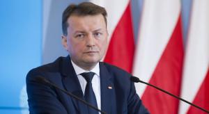 Błaszczak: opozycja powinna poprzeć rząd w sprawie polityki wobec słów Putina