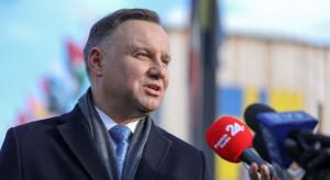 Andrzej Duda oskarża Władimira Putina w brytyjskiej gazecie