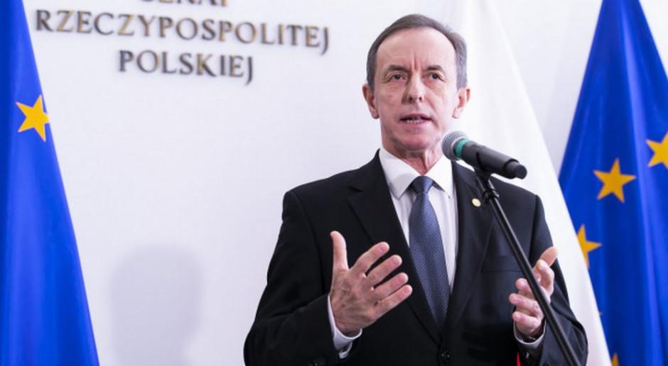 Marszałek Senatu: Omówiliśmy z Gowinem różne opcje przełożenia wyborów