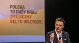 Hołownia: mam większe szanse wygrać z Dudą niż Trzaskowski