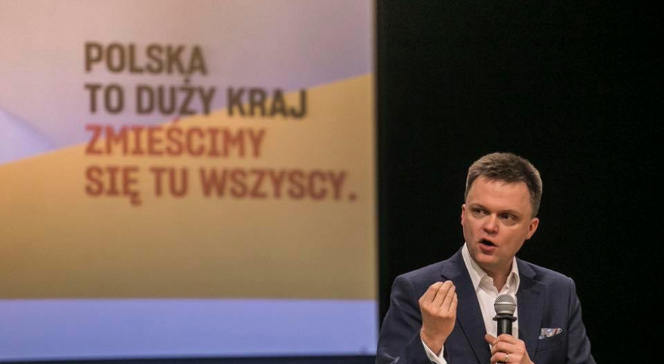 Szymon Hołownia o ustawie o głosowaniu korespondencyjnym: farsa!