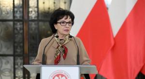 Marszałek Sejmu wygłosi w piątek wieczorem orędzie
