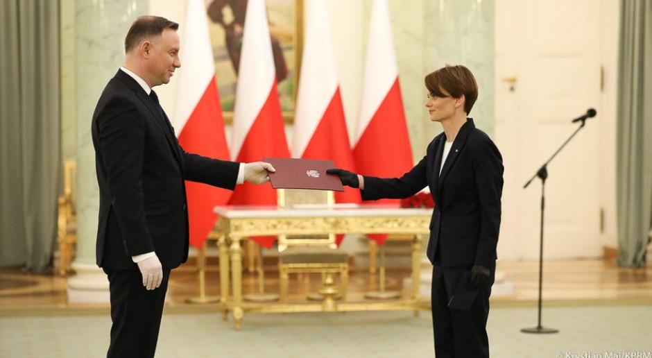 Jadwiga Emilewicz powołana na wicepremiera